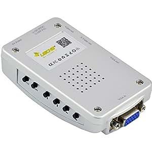 LEICKE ® KanaaN PC VGA Convertisseur à TV Composite Video RGB