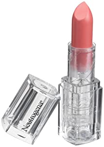 Neutrogena MoistureShine Lipstick, Angel's Blush 100, 0.05 Ounces (Pack of 2)
