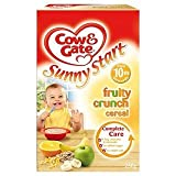 Cow & Gate Sunny Start 10 Mths+ Fruity Crunch Cereal 250G