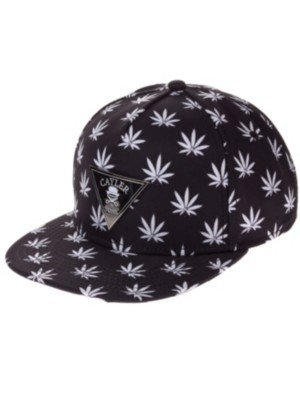 Cayler and Sons Budz n Stripes 2-Tone Cap Black White