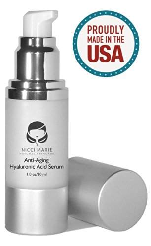 Hyaluronic Acid Serum With Vitamin C, A, D, E ~ Best Anti Aging Cream & Anti Wrinkle Moisturizer ~ 60 Day Guarantee ~ Botox Alternative Skin Care Products For Men & Women ~ Benefits? Stimulates Collagen, Has A Firming & Hydrating Effect Which Plumps Your