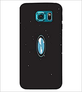 PrintDhaba Earth D-2042 Back Case Cover for SAMSUNG GALAXY S6 (Multi-Coloured)
