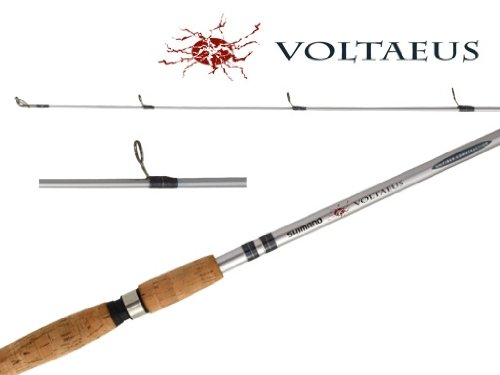Shimano Voltaeus 1 Piece Salt Water Heavy Spinning Rod (7-Feet, Medium)