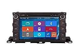 See Crusade Car DVD Player for Toyota Highlander / Xu50 Series 2014- Support 3g,1080p,iphone 6s/5s,external Mic,usb/sd/gps/fm/am Radio 9 Inch Hd Touch Screen Stereo Navigation System+ Reverse Car Rear Camara + Free Map Details