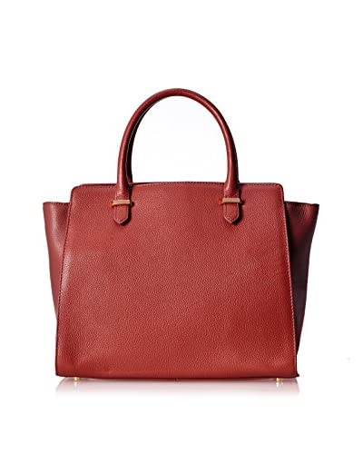 Zenith Women's Large Satchel, Red