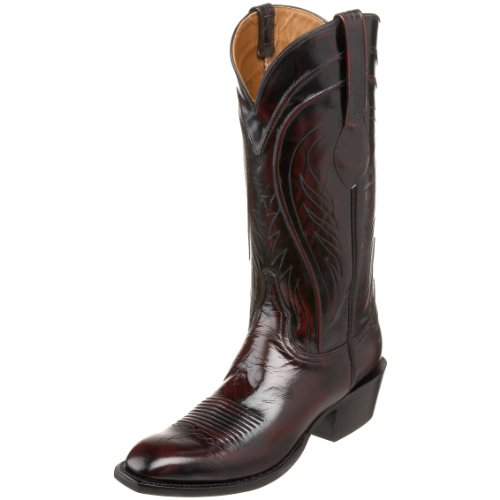 Lucchese Classics Men's L1505.13 Boot,Blackcherry,7 EE US
