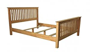 Shaker Twin Bed Frame (Pine)