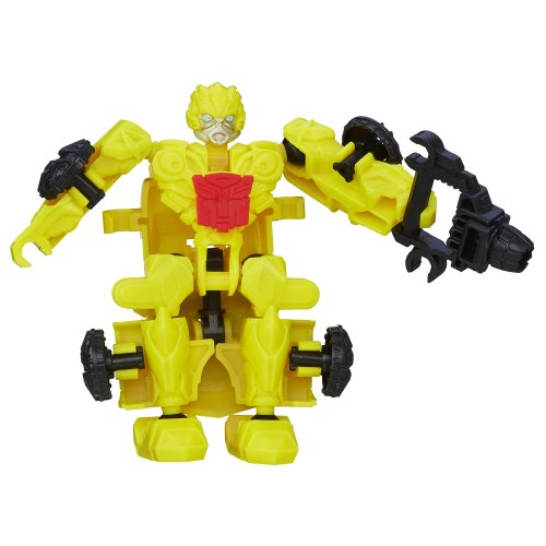 Transformers Age of Extinction Construct-Bots Dinobot Riders Bumblebee Buildable Action Figure