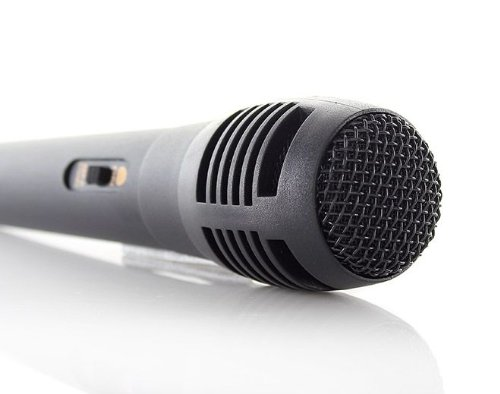 4-In-1 Wired Karaoke Microphone (2-Pack)-Wired, 2-Pack