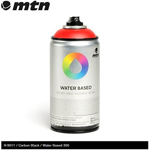 mtn-carbon-black-rv-9011-300-ml-de-agua-pintura-de-aerosol-base