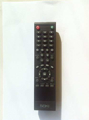 New Seiki Remote Control For Seiki Sc552Gs Se421Tt, Se241Ts, Sc552Gs Se421Tt Se241Ts Sc461Ts Sc552Gs Se421Tt Se241Ts Le-39Gj05 Lc-26G82 Lc-40Gj15 Le-55Gb2A Lc-40Gj15 Lc-32Gl12F Lc-37G77B Lc-32G82 Le-55Ga2 Le-60G77D Le-22Gbr-C Le-24Gq11 Sc461Ts Tv--Usa Sel