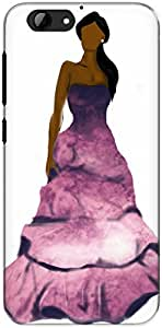 The Racoon Lean printed designer hard back mobile phone case cover for Htc One A9S. (purple fas)