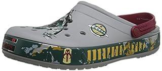 crocs CB Star Wars Boba Fett Clog, Light Grey, 10 B(M) US Women/8 D(M) US Men