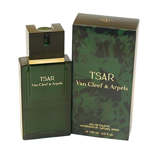 TSAR for Men by VAN CLEEF & ARPELS, Eau De Toilette Spray 3.3 Ounces