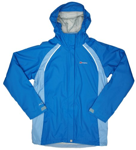Berghaus Binsey 3 In 1 Girls Jacket - Dazzle Blue/Della Robia Blue-Della Robia Blue, 9-10 years