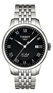 Tissot Men's T41148353 Le Locle Black Dial Watch