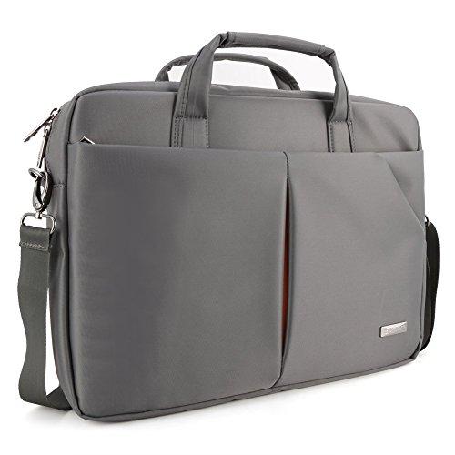 173-laptop-briefcase-evecase-professional-laptop-chromebook-messenger-bag-carrying-shoulder-case-gra