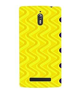 PrintVisa Spiral Pattern 3D Hard Polycarbonate Designer Back Case Cover for Oppo Find 7