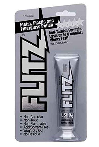 Flitz Metal, Plastic And Fiberglass Polish Paste In 1.76-Ounce Blister Tube