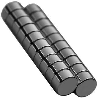 20 Neodymium Magnets 1/4 x 1/8 inch Disc N48