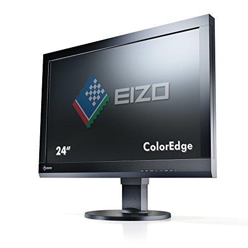 Eizo CS240-BK 61 cm (24 Zoll) Monitor (VGA, DVI, HDMI, 7,7ms Reaktionszeit) schwarz