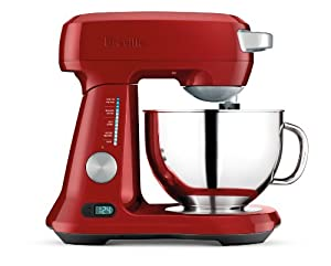 Breville BEM800CBXL Scraper Mixer Pro Stand Mixer, Cranberry Red by Breville