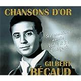 Chansons d'or : Gilbert Bécaud, ses premières années, volume 1 à 3 : l'intégrale - Coffret 3 CD