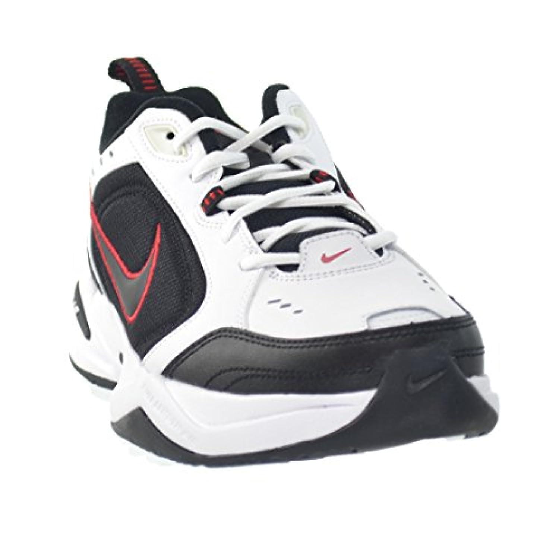 size 40 90b14 9a841 ... Nike Air Monarch IV Men s Shoes White Black-Varsity Red 415445-101 ...