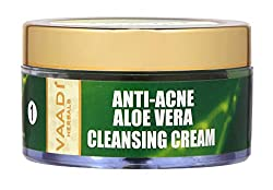 Vaadi Herbals Anti Acne Aloe Vera Cleansing Cream, 50g