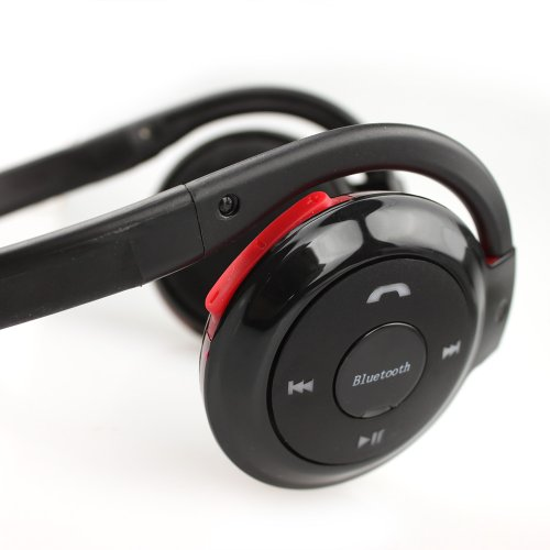 Digital Family Bluetooth Stereo Headphones Black