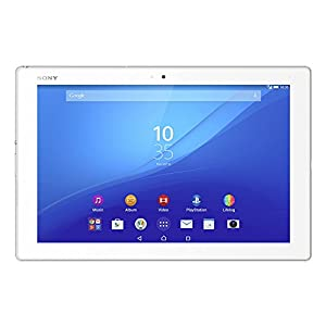 Sony Xperia Z4 Tablet SGP771 32GB 10.1-Inch Wi-Fi + LTE Factory Unlocked Tablet (White) with Bluetooth Keyboard (BKB50) - International Stock ...
