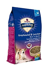 Supadog Adult Complete Dry Dog Food for Greyhounds and Lurchers 12.5 kg