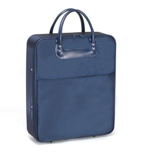 日本製 国産 和装ケース 着物バッグ 和装バッグ きもの かばん#14110-03(紺)