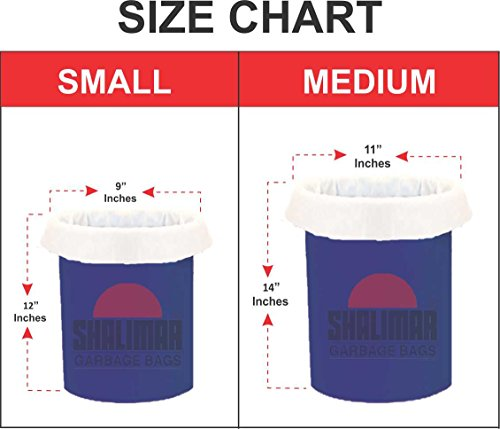 Small Garbage Bags : Buy shalimar virgin white garbage bags small size
