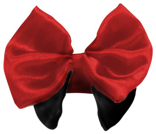 Platinum Pets Formal Dog Bow Tie And Collar, 10 To 11-Inch, Red front-481895