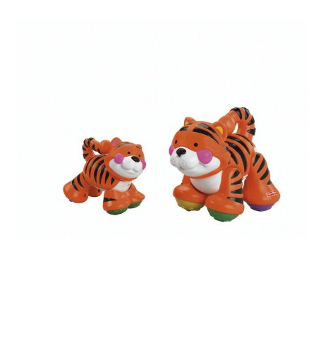 41%2BLfIO7SoL Cheap Price Fisher Price Amazing Animals Sing Along Mommy & Baby   Tiger