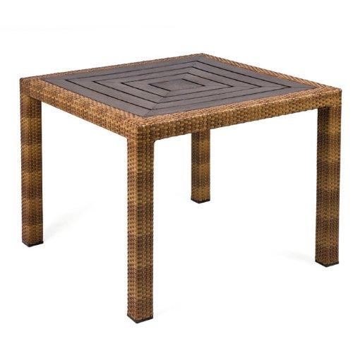 MBM 68.00.0338 Tisch Bellini 90 x 90 cm, tobacco, Resystaplatte siam kaufen
