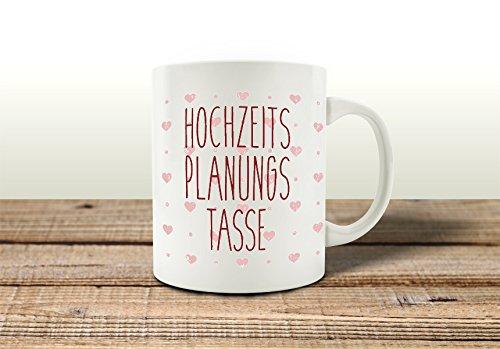 Tasse kaffeebecher hochzeits planungs tasse spruch lustig for Geschenk polterabend