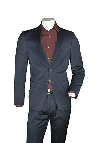 Slim Fit – Herren Anzug der Marke KAISER in Schwarz oder Marine blau, Madrid (Art. 43264) günstig online kaufen