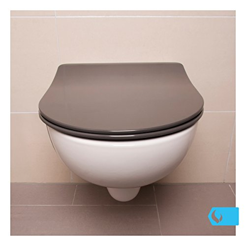 bullseat 3 2 wc sitz anthrazit d form absenkautomatik softclose abnehmbar easyclean. Black Bedroom Furniture Sets. Home Design Ideas