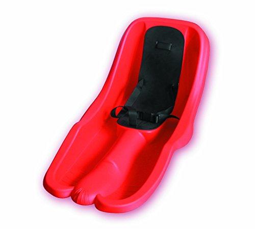 Luge-Bob-rouge-avec-ceinture-de-securite-resistant-et-stable