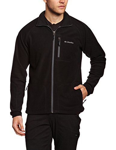 Columbia Fast Trek II Full Zip Fleece Giacca in Pile Uomo - Nero (Nero (010)) - M