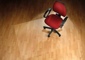 Floordirekt PRO  12 Größen zur Wahl  Polycarbonat Bodenschutzmatte transparent mit TÜV für Hartböden   Kundenberichte und weitere Informationen