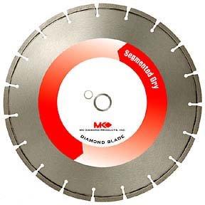 "MK Diamond 404D Dry Diamond Blade -- 20"" x .142"" x 1"""