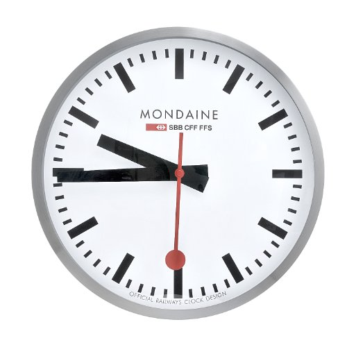 Wise Selection Mondaine A995 Wall Clock Large