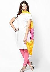 Soundarya Ethnicwear Cotton Bandhej Handwork Dupatta for Women (3056)