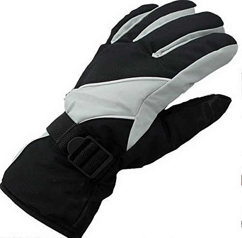 Ski Gloves, Waterproof Thermal Winter Ski Gloves Snowboard Snowmobile Motorcycle Cycling Outdoor Sports Gloves-Men's