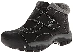 KEEN Kootenay Winter Boot (Toddler/Little Kid), Black/Neutral Gray, 8 M US Toddler