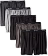 Hanes Mens 5 Pack Ultimate Dyed Expo…