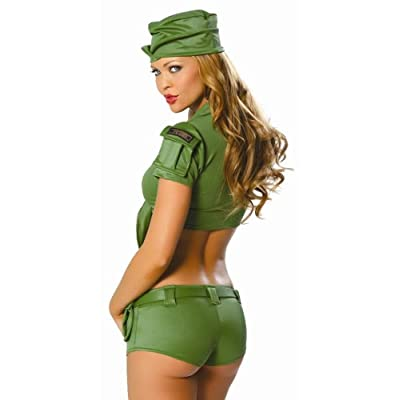 Sexy girls in Army Private Costume